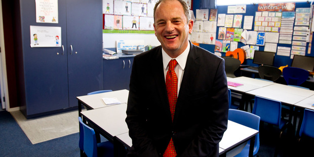 "Former Labour leader David Shearer attended the ""right-wing"" event. Photo Dean Purcell NZH."