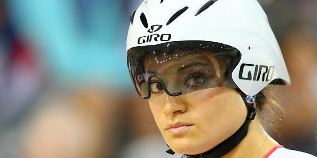 Natasha Hansen is an air traffic controller at Hamilton Airport when she's not training full-time in sprint cycling. Photo / Dianne Manson