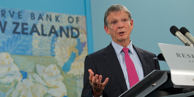 All the major banks are now picking Reserve Bank governor Graeme Wheeler will have to go further than Thursday's expected official cash rate cut of 0.25 per cent, to 2 per cent. Photo / Mark Mitchell
