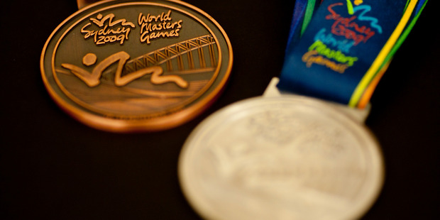 Auckland will hand out its own medals for the World Masters Games next year. Photo / File