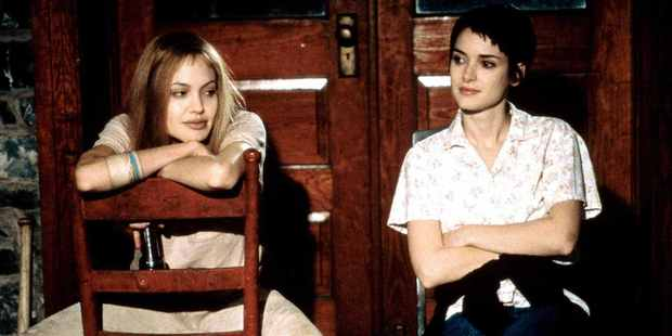 Winona Ryder with Angelina Jolie in Girl, Interrupted - a film that was close to her heart.