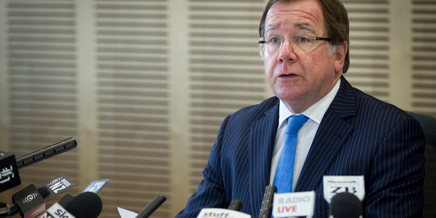 Murray McCully's talks with Security Council members will focus on New Zealand chairing the Security Council in September. Photo Sarah Ivey.
