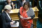 Maori Party MP Marama Fox's private member's bill will have its first reading tomorrow. Photo / Mark Mitchell.