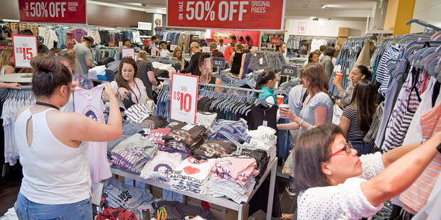 Spending in the Bay of Plenty is up, with more people spending money of cafes and restaurants and home wares. Photo/file