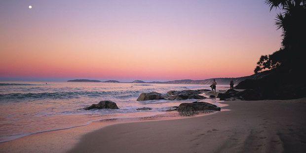 Rainbow Beach, Cooloola.