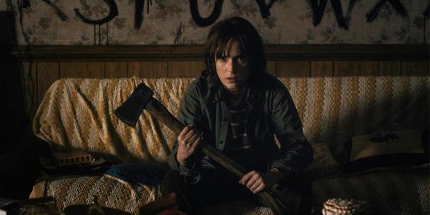 Winona Ryder's character in Stranger Things is sidelined and labelled as crazy.