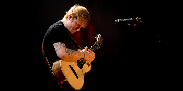 Ed Sheeran's in hot water again now there are claims he's ripped off Marvin Gaye. Photo / Dean Purcell