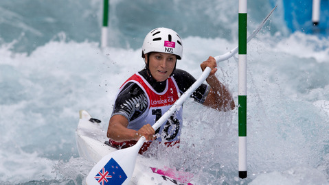 Jones puts Kiwi slalom on the map