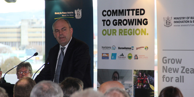 Minister for Economic Development Steven Joyce will be in town on Friday the region economic growth action plan, Accelerate 25.