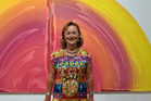 HAPPY: Sarjeant Gallery Trust chairwoman Nicola Williams is buoyed by the gallery's latest pledge.
