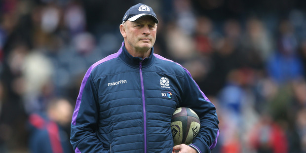 Vern Cotter, the Scotland head coach looks on during the RBS Six Nations. Photo / Getty Images