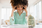 Stop worrying and start by writing down your financial situation. Photo / Getty Images