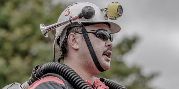 Tipiwai Stainton, 29, was a Waihi Gold Mines Rescue Team member. PHOTO: Jason Urlich.