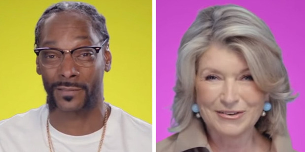 Snoop Dogg and Martha Stewart are set to host some celebrity dinner parties.