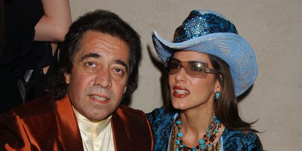 Walid Juffali and Christina Estrada in 2005. Photo / Getty Images
