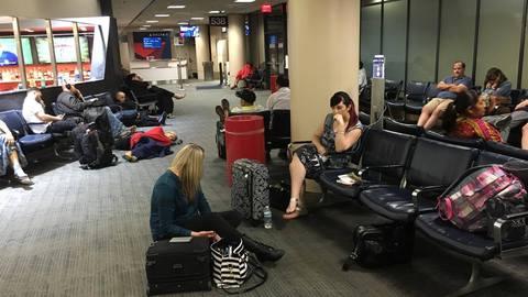 Computer crash grounds Delta flights worldwide