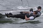 New Zealand Olympic 49er sailors Peter Burling and Blair Tuke. Photo / Brett Phibbs
