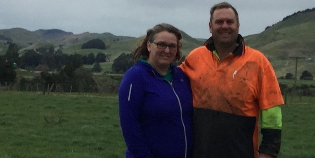 Dannevirke dairy farmers Nadine and Craig Bishop organised for Fonterra to supply the Dannevirke Salvation Army foodbank with much-needed milkpowder.