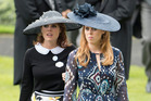 In the revealing interview, Princess Eugenie, left, gave details of where she works, shops and eats, and security experts aren't happy. Photo / Getty