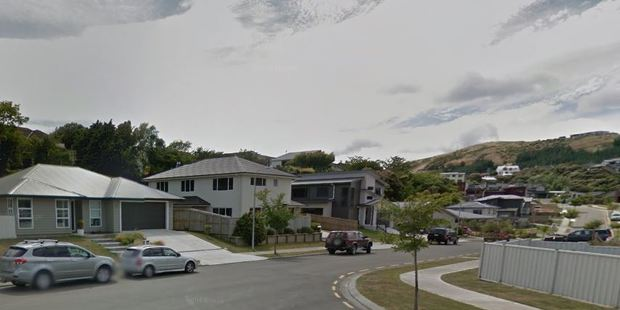 Two people in Flotilla Pace, in the Porirua suburb of Whitby, received the cheeky notes. Photo / Google Streetview