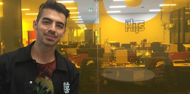 Pop singer Joe Jonas is playing in Auckland's Vector Arena on Saturday night, opening for Selena Gomez on her Revival World Tour. Photo/ Tess Nichol.