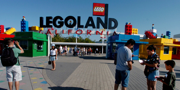 Visitors at Legoland California in 2005. Photo / Sandy Huffaker