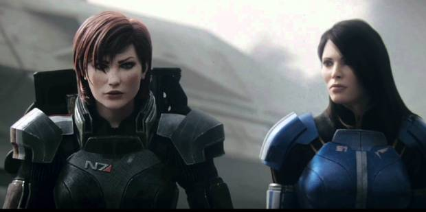 Mass Effect3 featured a female character as their lead.