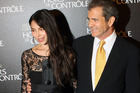 Oksana Grigorieva and Mel Gibson split shortly after their daughter Lucia was born. Photo / AP