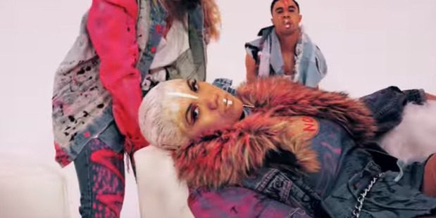 Parris Goebel and her squad is killing it in her new video for her debut single, Friday.