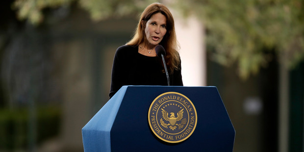 Loading Patti Davis, Daughter of former US President Ronald Reagan, has slammed Donald Trump. Photo / Getty Images