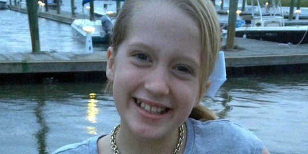 Hannah Collins died from a rare infection officials say she contracted as she splashed in the water. Photo / Facebook