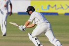 Ross Taylor scored his second straight test ton against Zimbabwe. Photo / AFP