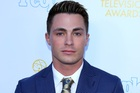 Colton Haynes was told his father killed himself after finding out his son was gay. Photo / Splash News