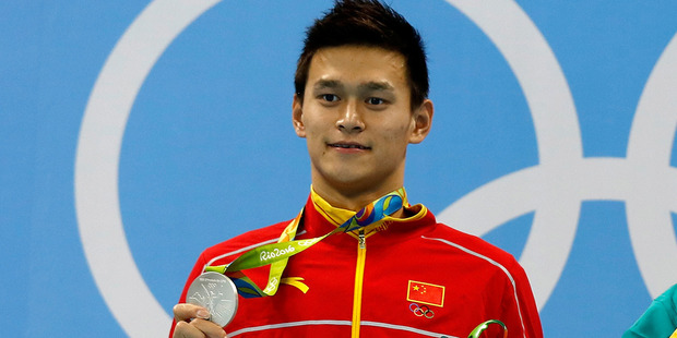 A French swimmer has a brutal message for Sun Yang. Photo / Getty.