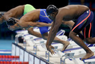 Robel Kiros Habte of Ethiopia competes in the Men's 100m Freestyle heat. Photo / Getty