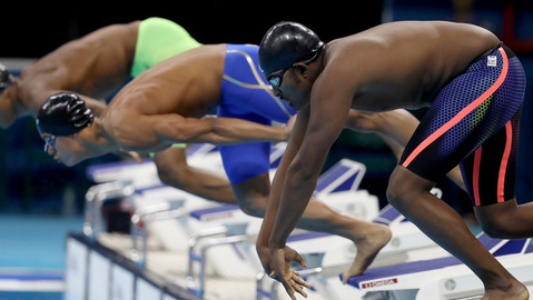 Ethiopian Olympic swimmer with 'dad bod' being body shamed I Video