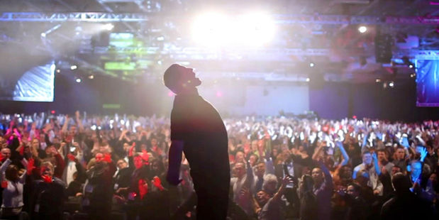 Loading Tony Robbins presents his annual Date With Destiny seminar in Florida, the subject of a new Netflix movie.