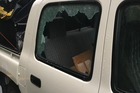 Thieves who broke into this ute would have received a smelly surprise. Photo / Supplied