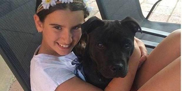 Zoe and her dog Jax. Photo / Facebook