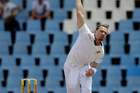 Despite not bowling at full pace, South African quick bowler Dale Steyn has still caused trouble for the Black Caps batsmen. Photo / AP