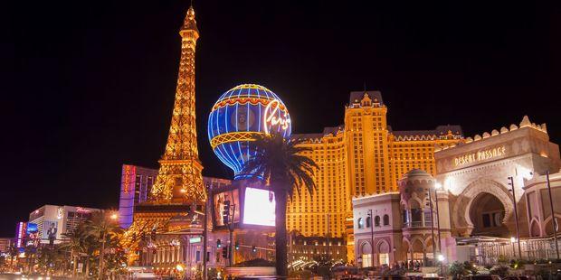 Paris, on the Las Vegas strip. Photo / 123RF