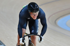 New Zealand's Sam Webster has produced a tactically perfect race in the opening round of the men's keirin at the Rio Olympics. Photo / Photosport.co.nz
