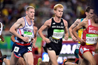 New Zealand's Zane Robertson competes in the Men's 10,000m race. Photo / Photosport