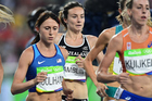 New Zealand's Nikki Hamblin competes during the women's 5000m final. Photo / photosport.nz
