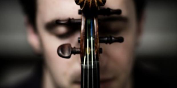Violinist Noah Bendix-Balgley.  Photo:  Nikolaj Lund