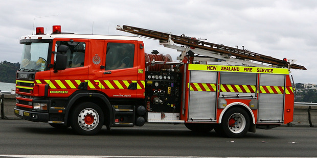 The blaze, in the suburb of Longburn, was put out before 9pm. Photo / File