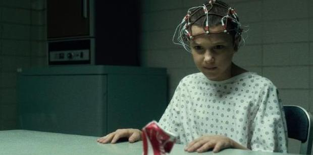 Millie Bobby Brown as Stranger Things' Eleven.