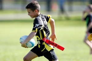 Harry Lowther, 10, finds space to run.