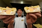 With no formal bakery training Patrick Lam has won 56 Bakels pie awards. Photo/George Novak