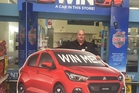 Dan Harris of New World Stratford is looking forward to giving a brand new car away to one lucky shopper.